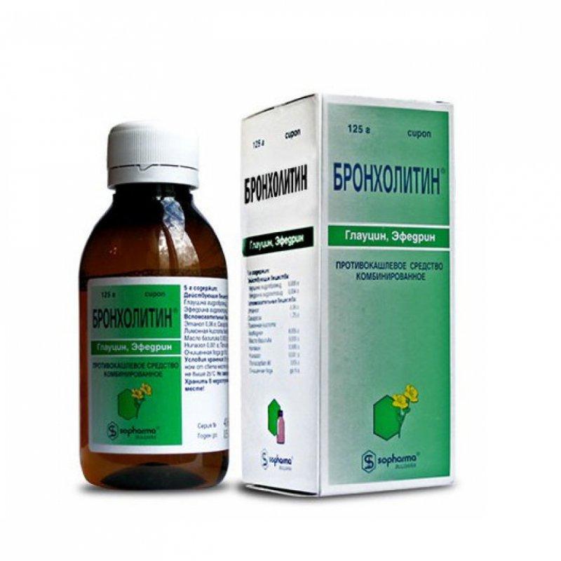 БРОНХОЛИТИН сироп фл.125мл