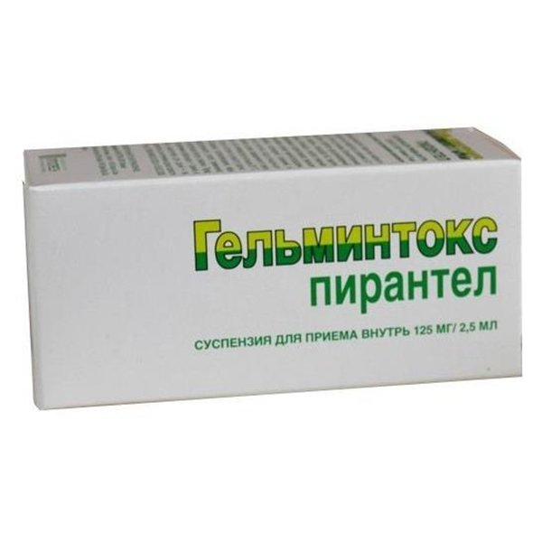 ГЕЛЬМИНТОКС сусп. 125мг/2,5мл фл. 15мл