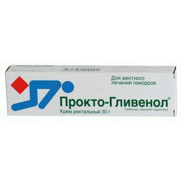 ПРОКТО-ГЛИВЕНОЛ крем 2% туба 30г