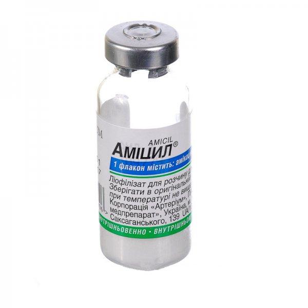 АМИЦИЛ-КМП фл. 1г N1 (Амикацин)