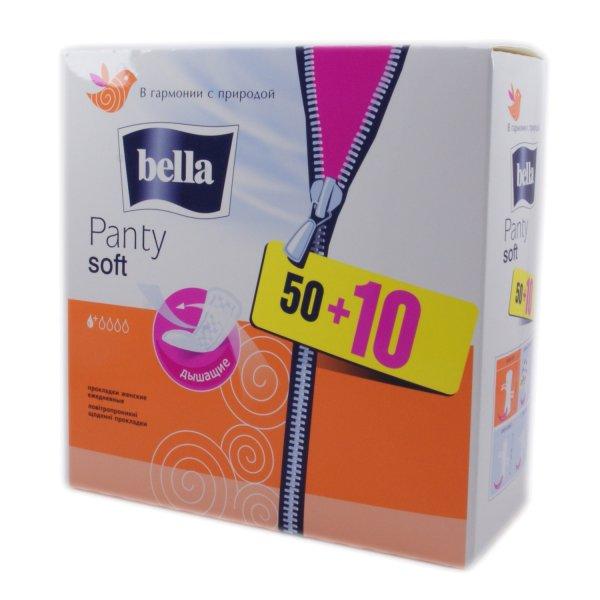 BELLA Panti Soft (50+10шт)