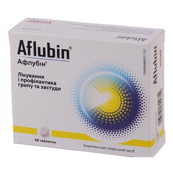 АФЛУБИН тбл. гомеоп. N48