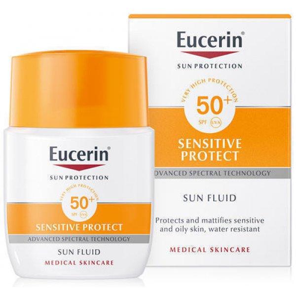 EUCERIN 63840 Крем флюид д/лица 50мл (SPF-50)