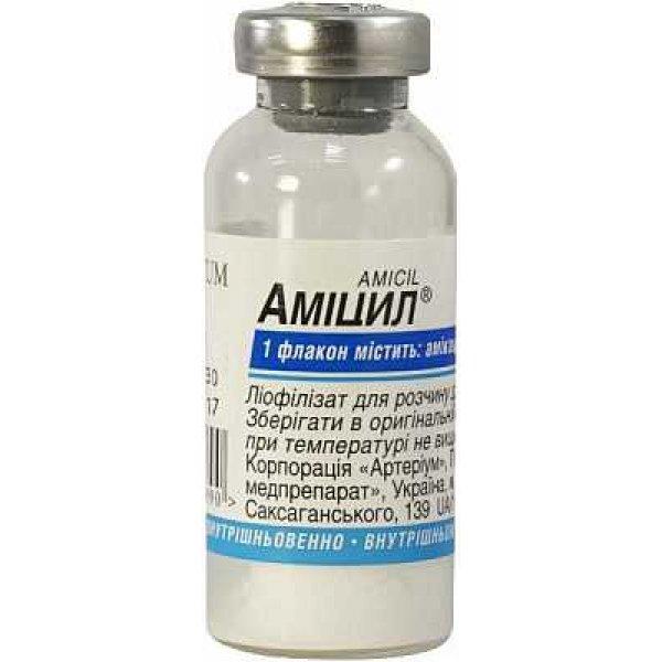 АМИЦИЛ-КМП фл. 0,5г N1 (Амикацин)