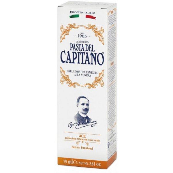DEL CAPITANO зубная паста с витаминами АСЕ 75мл