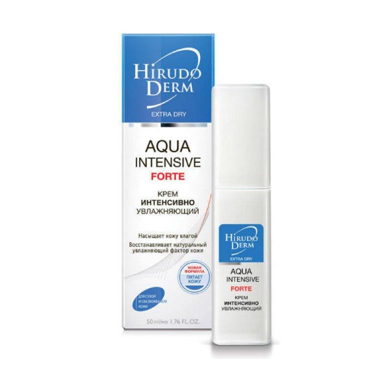 HIRUDO DERM Extra-Dry Aqua Intensive Forte интенсивно увлажняющий крем 50мл