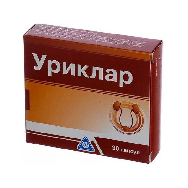 УРИКЛАР капс. N30