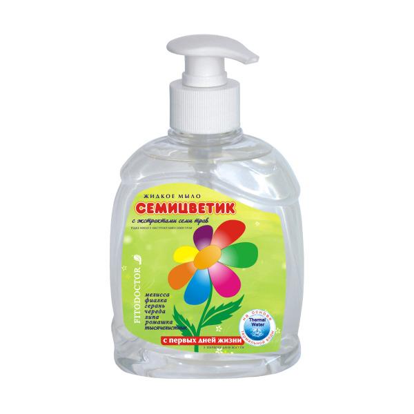 ФД Жидкое мыло семицветик 300мл