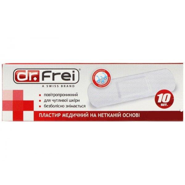 Dr. Frei Пластир медичний на нетканій основі 10 шт. 19 х 72 мм