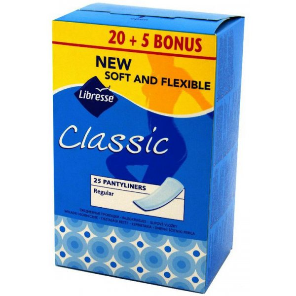 LIBRESSE Pantyliners Classic N25
