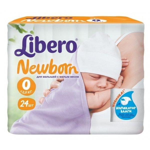 LIBERO подгузники Touch Prema (до 2,5 кг) 24 шт