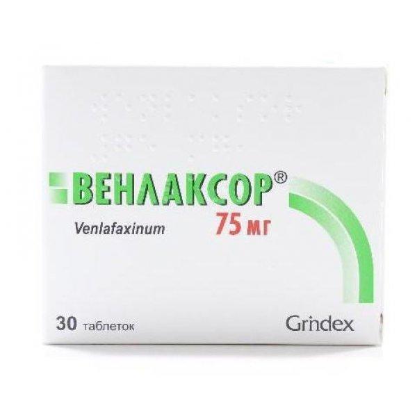 ВЕНЛАКСОР табл.75 мг N30