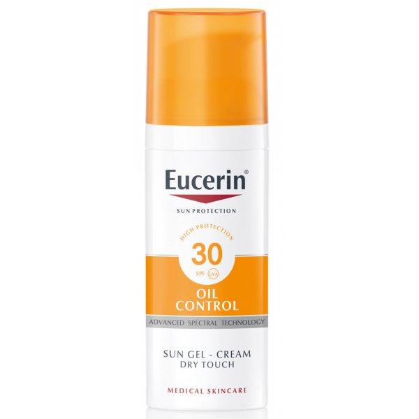 EUCERIN 69768 Гель-крем солнецезащ.SPF30 50мл д/жир.кожи и склон.к акне кожи лица