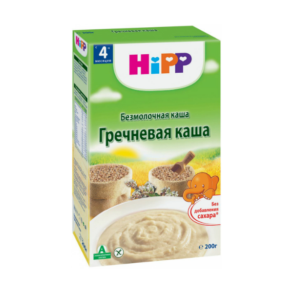 HIPP Каша безмолочная Гречневая 200г