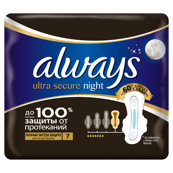 ALWAYS Ultra Night Экста защита N7