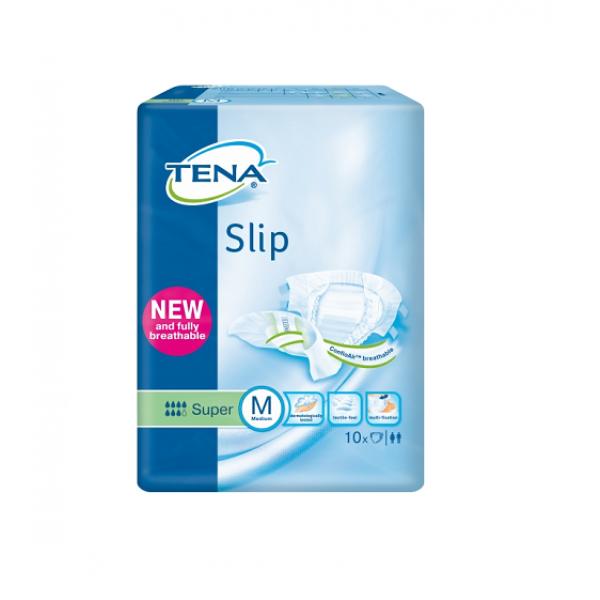 TENA подгузники Slip Super  Medium (73-122 см) N10