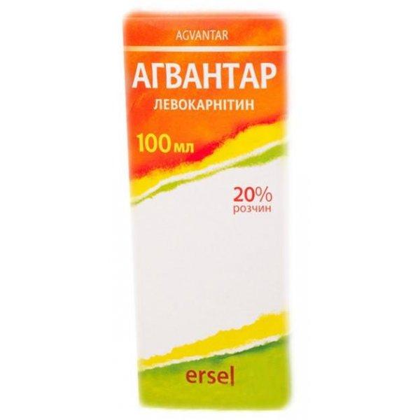 АГВАНТАР р-р орал. 20%конт.100 мл фл.(шприц/мерн.стакан.в/уп.)