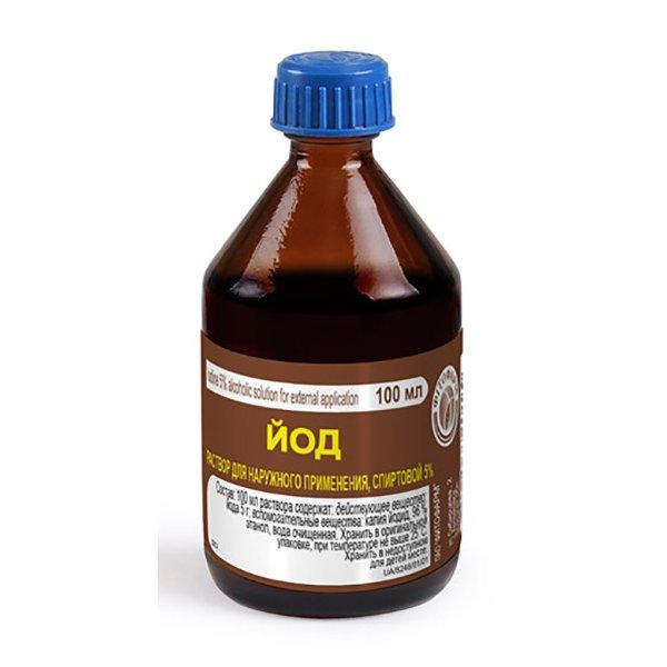 Р-Р ЙОДА спирт.фл. 5% 100мл Фитофарм