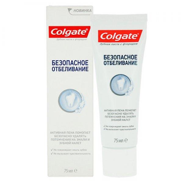 COLGATE Безопасное отбеливание зубная паста 75мл
