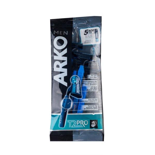 Станок ARKO Men T2 Pro Double 5 шт