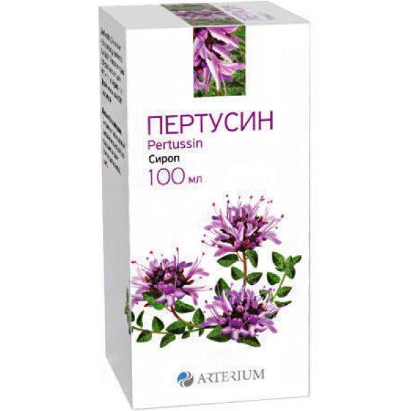 ПЕРТУССИН-АРТЕРИУМ сироп фл.100г