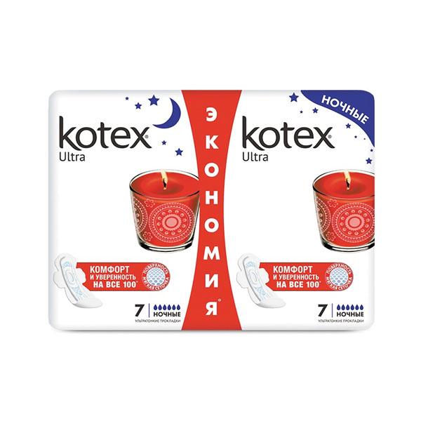 KOTEX тампоны Апликаторные Нормал 8х16