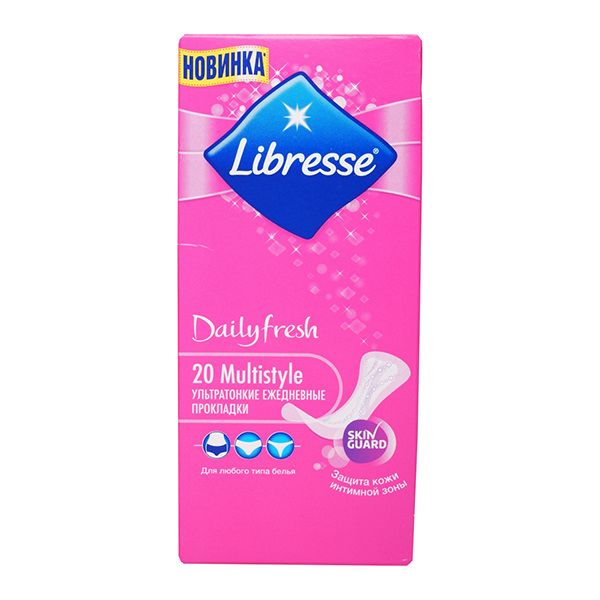 Libresse Daily Fresh Multistyle 20 шт