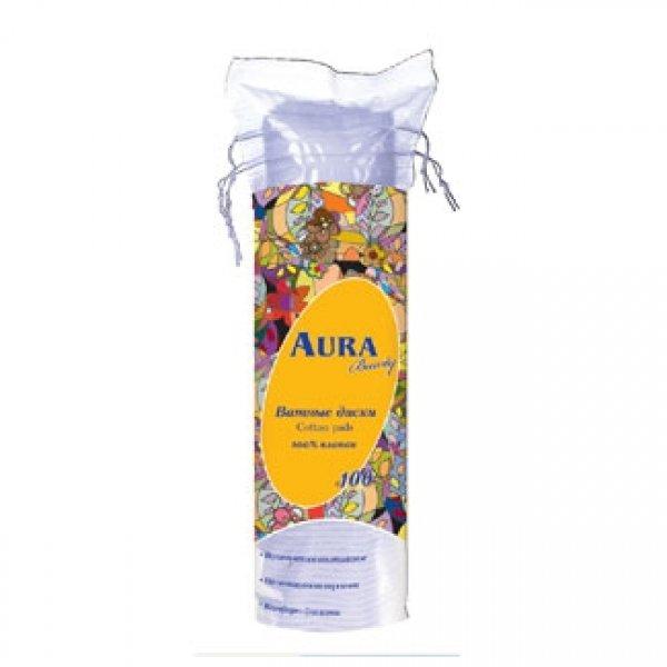 AURA Beauty ватні диски 100шт