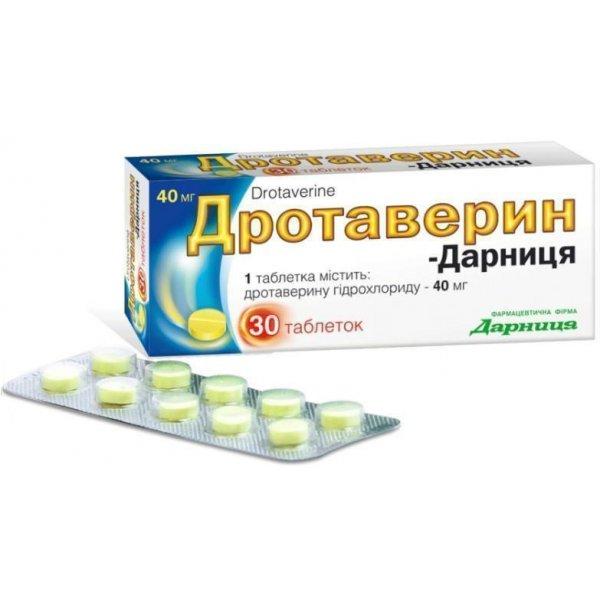 ДРОТАВЕРИН-ДАРНИЦА таб. 0,04г N30(10*3)