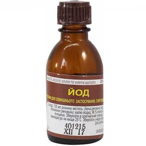 Р-Р ЙОДА спирт.фл. 5% 10мл Фитофарм