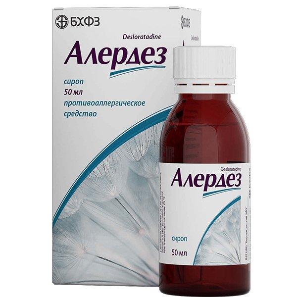 АЛЕРДЕЗ сироп   0,5 мг/мл флак. 50 мл