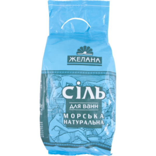 ЖЕЛАНА Соль д/ванн натуральная морская 1000гр