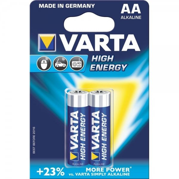 Батарейка VARTA HIGH Energy AA BLI 2