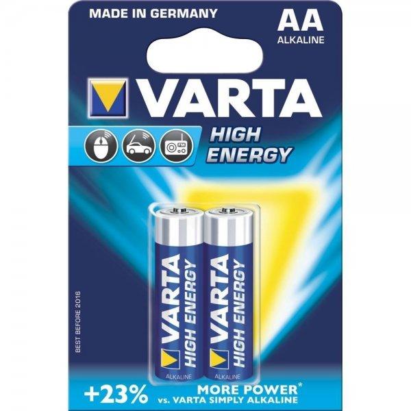 Батарейка VARTA HIGH Energy AA BLI 2