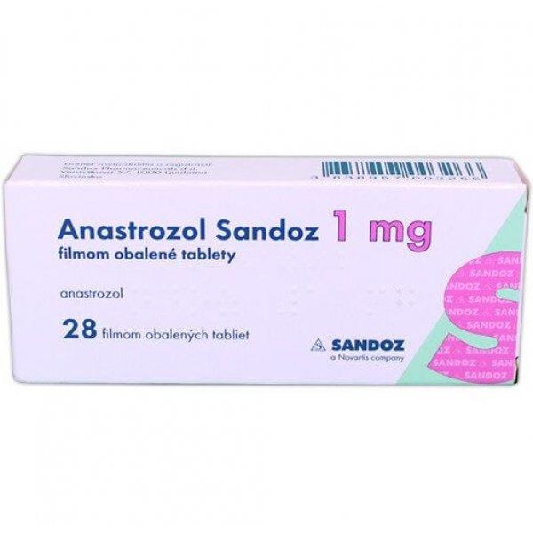 АНАСТРОЗОЛ САНДОЗ табл. 1 мг №28 (14х2)