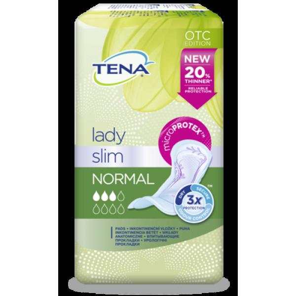 TENA LADY Slim Normal Урологические прокладки д/женщин 12шт