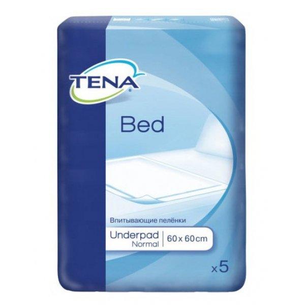 TENA BED Normal  Пеленки 60*60 N 5 +Sticker