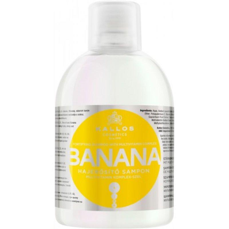 Kallos шампунь д/волос Banana 1 л