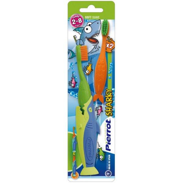 ПІРОТ щітка зубна дитяча Акула  №2 Ref.136