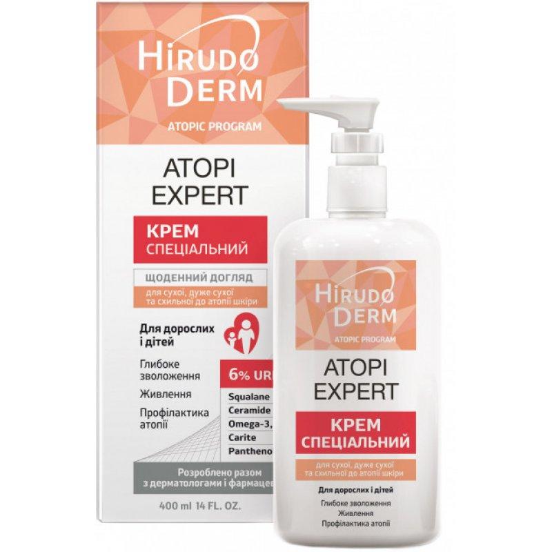 HIRUDO DERM ATOPI EXPERT спец. крем для сухой,очень сух.и склон. до атопии кожи 400мл