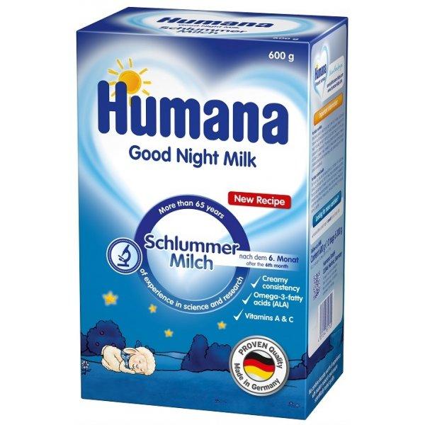 Хумана «Сладкие сны с Омега-3, Омега-6 жирными кислотами» для детей от 6 месяцев, 600гр