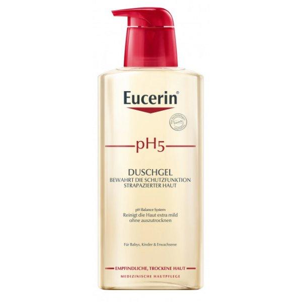 Eucerin  Гель д/душа pH5 400мл