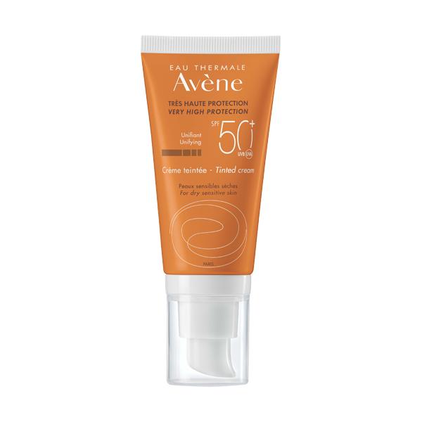 Avene Солнцезащитный крем тональный SPF 50 50мл