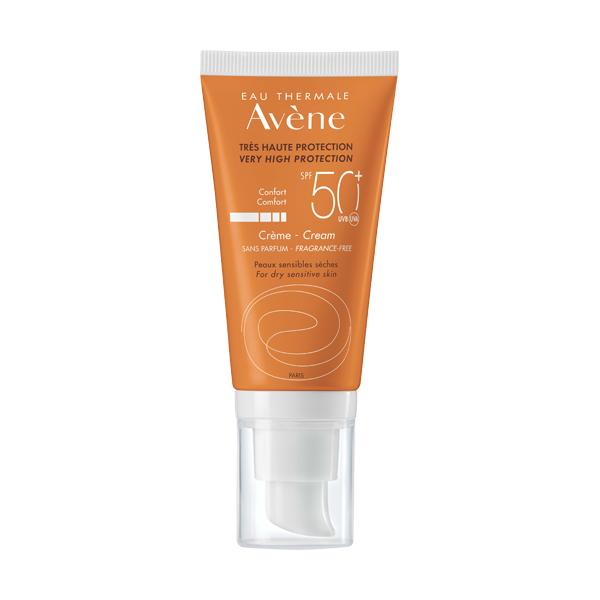 Avene Солнцезащитный крем SPF 50 50мл
