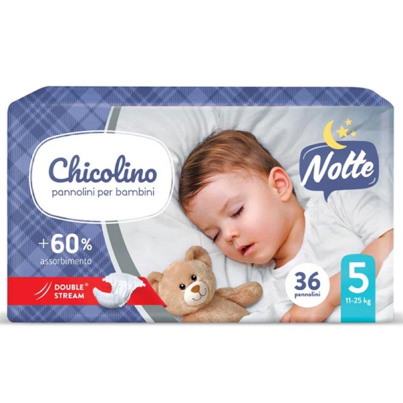 Chicolino підгузники дитячі 5 (11-25кг) 36шт NIGHT
