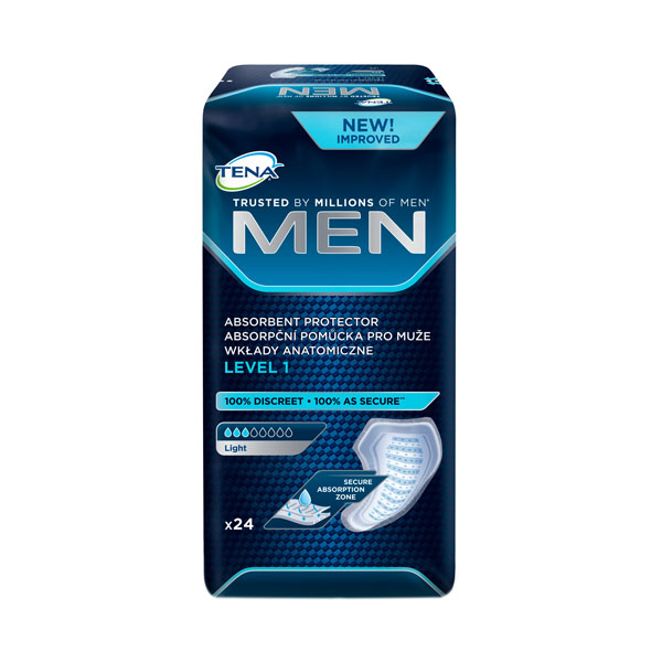 TENA MEN Урологические прокладки д/мужчин 24шт