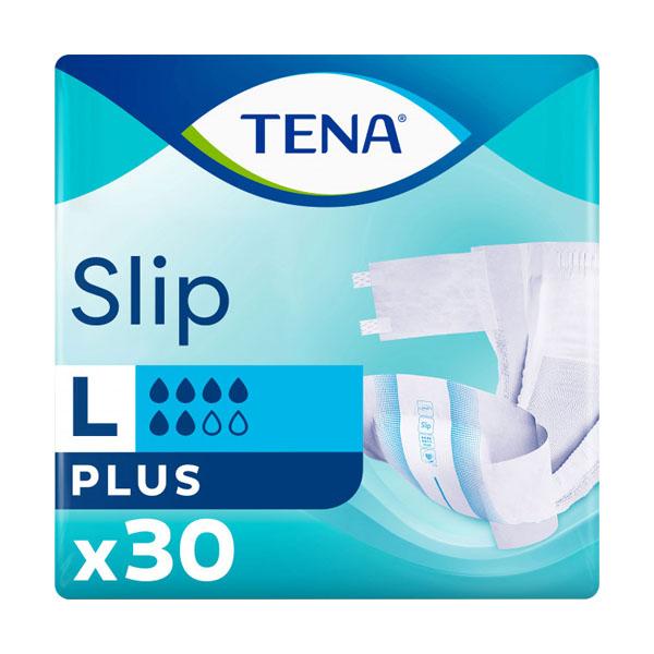 TENA подгузники Slip+ Large N30