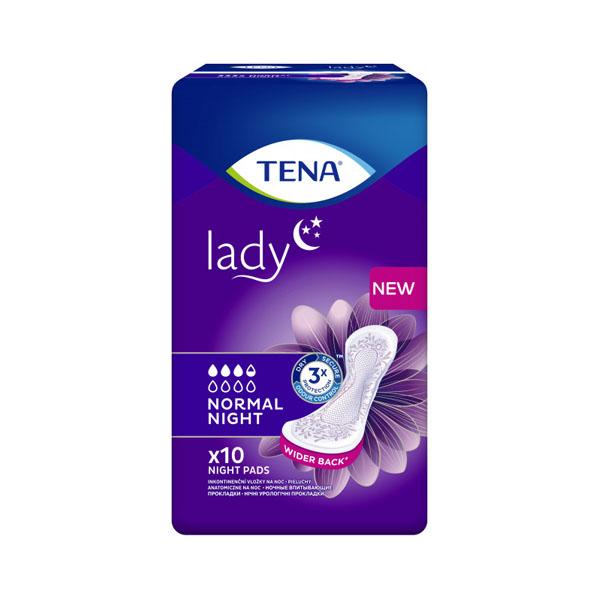 Tena Lady урологічні прокладки Normal Night 10