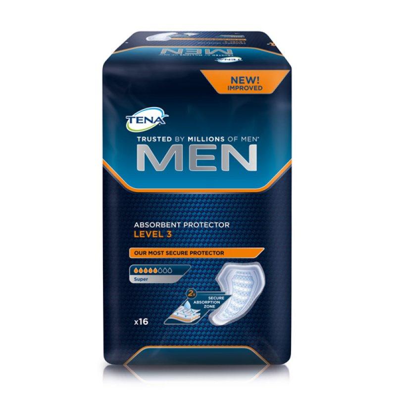 TENA for Men LEVEL 3 Урологические прокладки д/мужчин 16шт