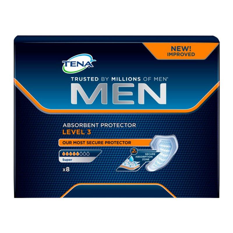 TENA for Men LEVEL 3 Урологические прокладки д/мужчин 8шт